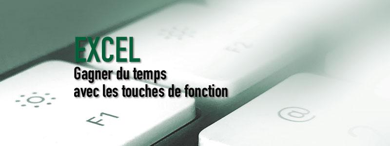 EXCEL – Touches de fonction