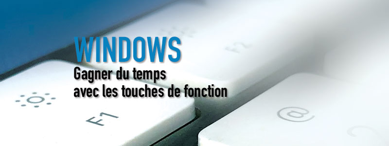 WINDOWS – Touches de fonction